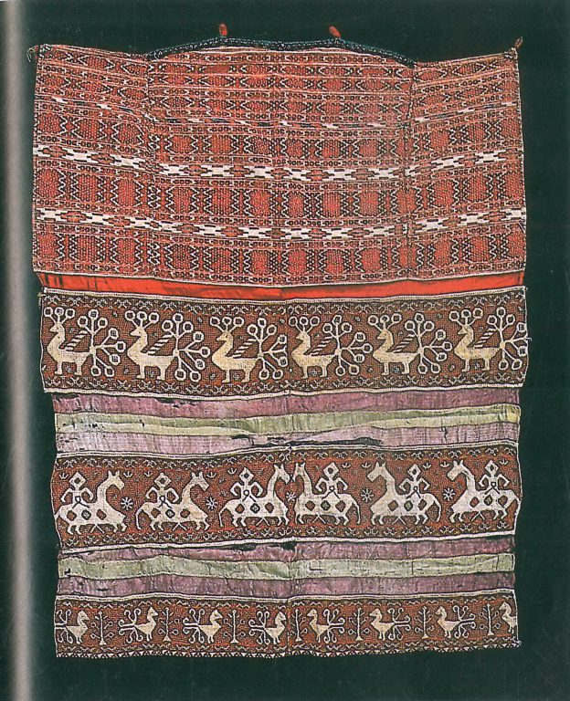 Apron. Mid-19th century