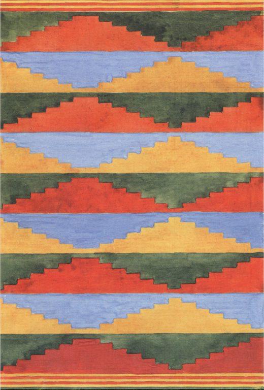 Безворсовый ковёр. <br/>Конец 19 века