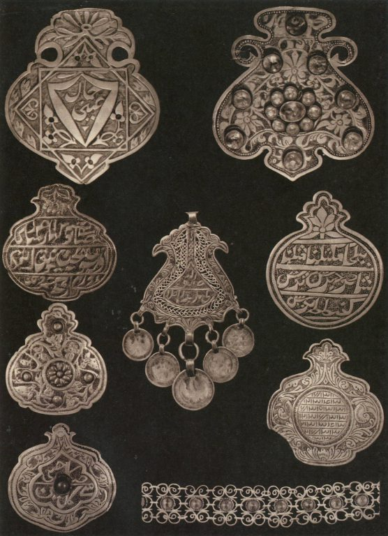 Jewelry (plaques) . <br/>19th century