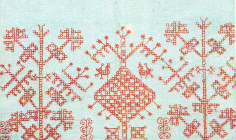 Stanushka (part of a women's shirt). Fragment. <br/>1920-ies