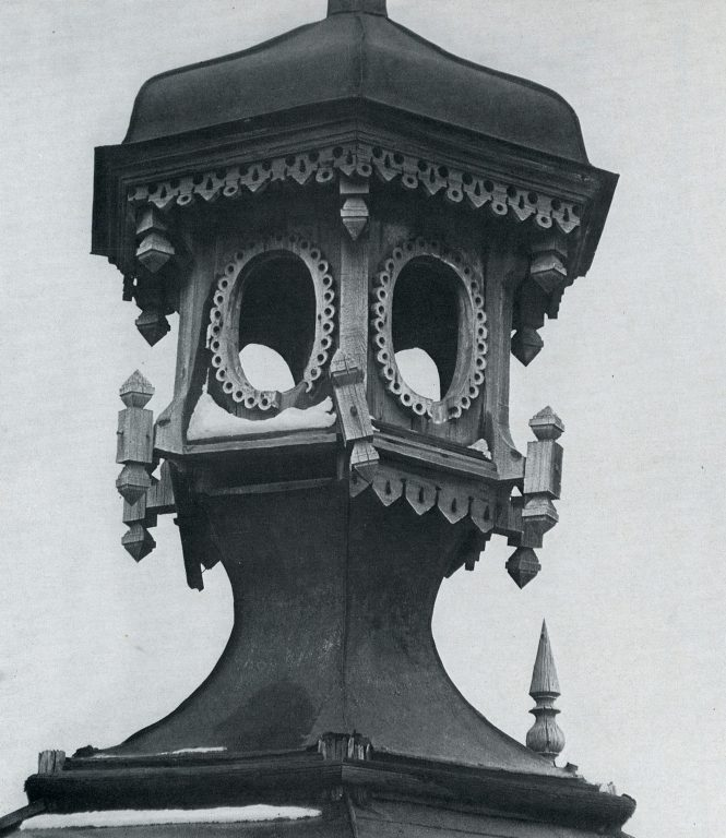 Roof lantern. <br/>Late 19th century - early 20th century