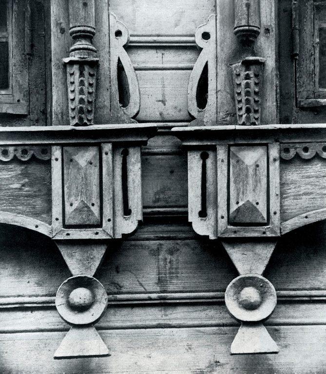 Нижнее обрамление окна. Деталь. <br/>Конец 19 века - начало 20 века