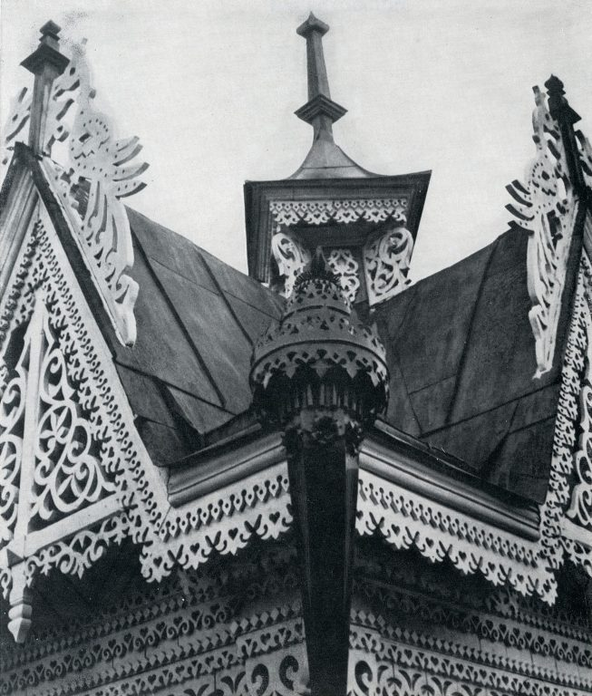 House corner. Detail. Late 19th century - early 20th century