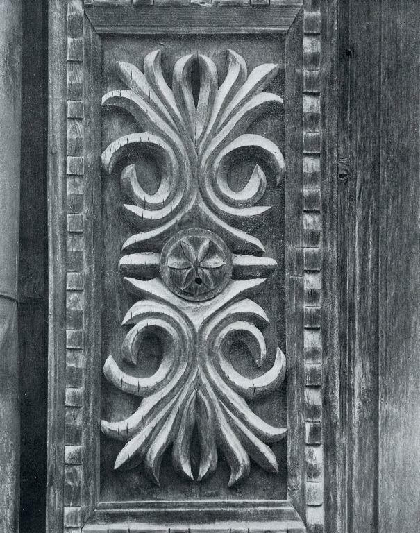 Pilaster. Detail. Late 19th century - early 20th century