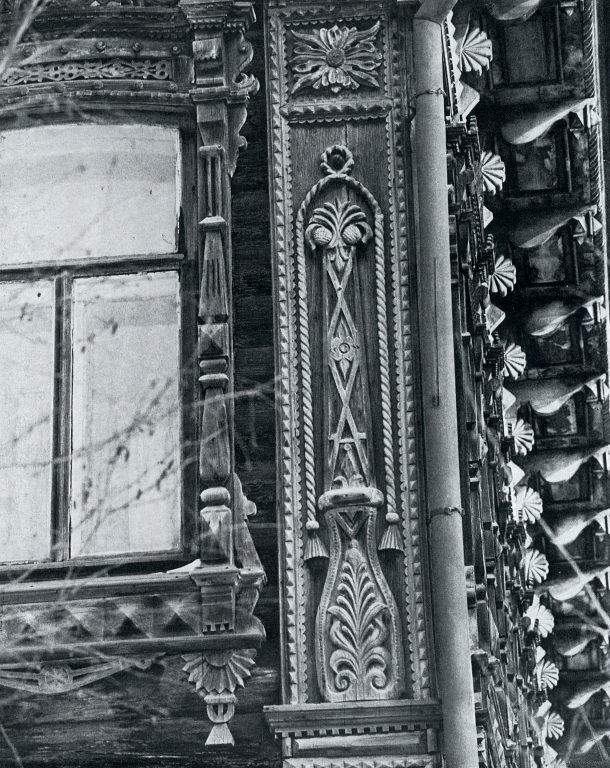 Vertical decorative element. Detail. <br/>Late 19th century - early 20th century