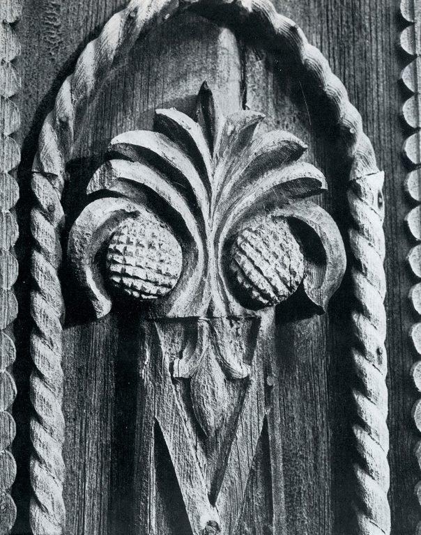 Боковое обрамление фасада. Деталь. <br/>Конец 19 века - начало 20 века