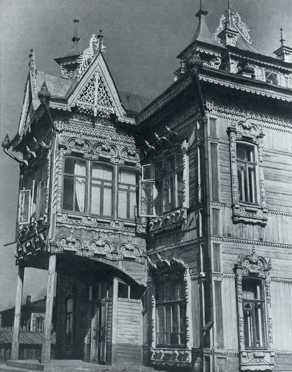 Bay window. Late 19th century - early 20th century