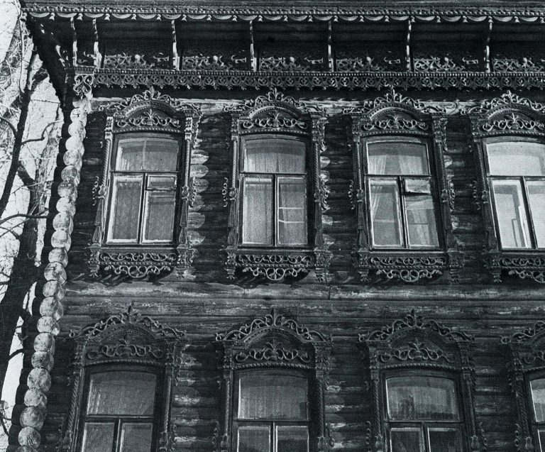 Фасад. Фрагмент. <br/>Конец 19 века - начало 20 века