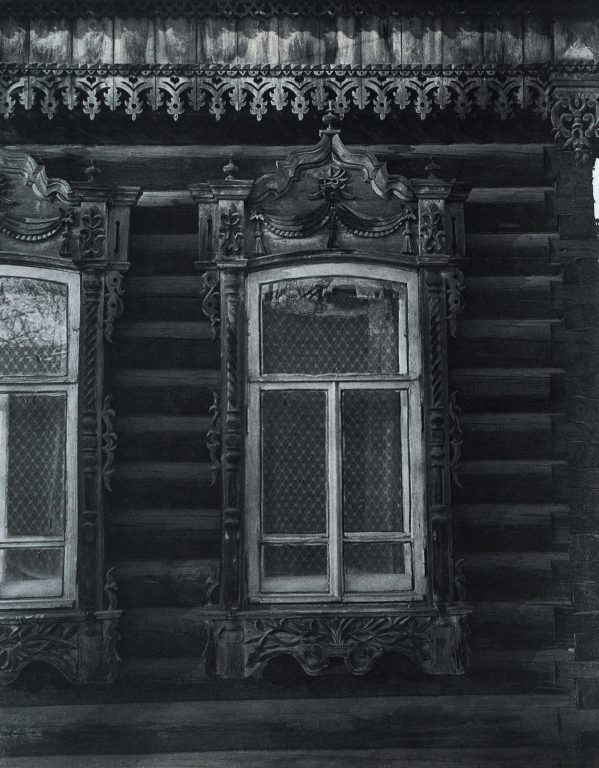 Window frames. <br/>Late 19th century - early 20th century