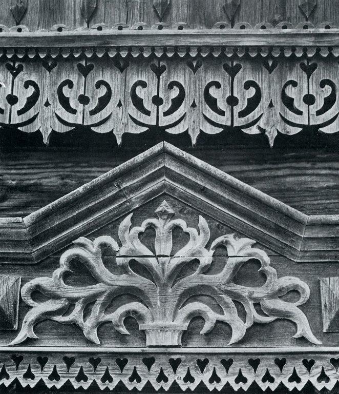 Верхнее завершение окна и фриз. <br/>Конец 19 века - начало 20 века