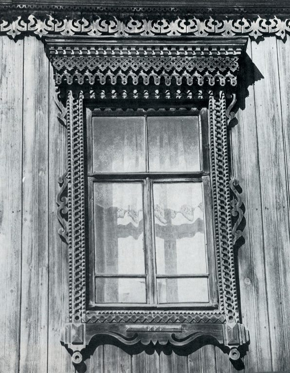 Window frame. <br/>Late 19th century - early 20th century