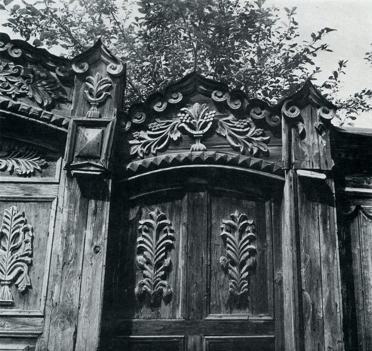 Gates. <br/>Late 19th century - early 20th century