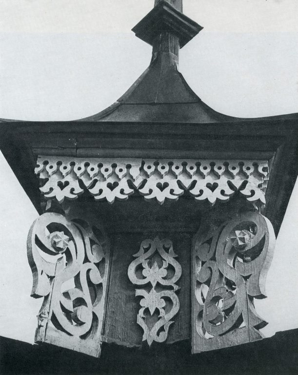 Corner acroterion. Detail. <br/>Late 19th century - early 20th century