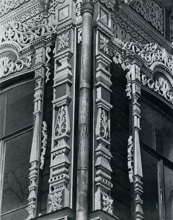 House corner. Detail. <br/>Late 19th century - early 20th century