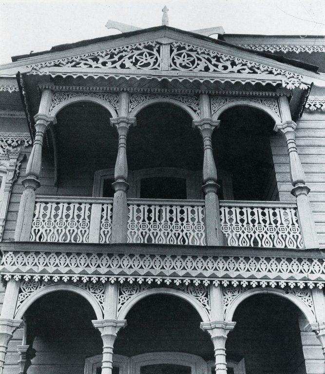 Courtyard terrace. Detail. <br/>Late 19th century - early 20th century