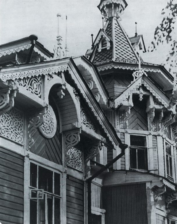 Facade. Detail. <br/>Late 19th century - early 20th century
