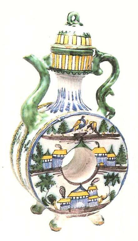 Kvassnik (vessel for kvass storage). Late 18th mid 19th centuries