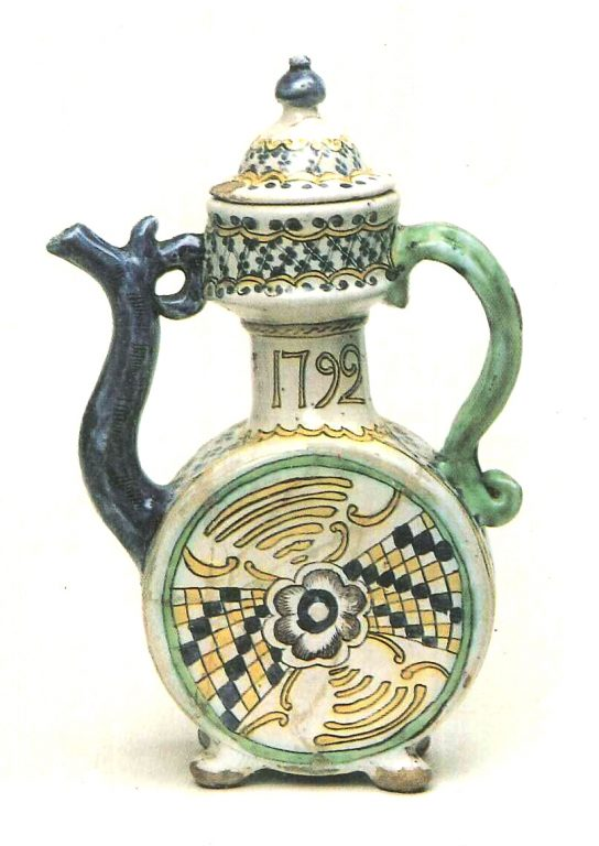 Kumgan (high pitcher with a spout). <br/>1792 year