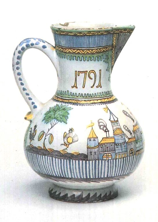 Pitcher. 1791 year