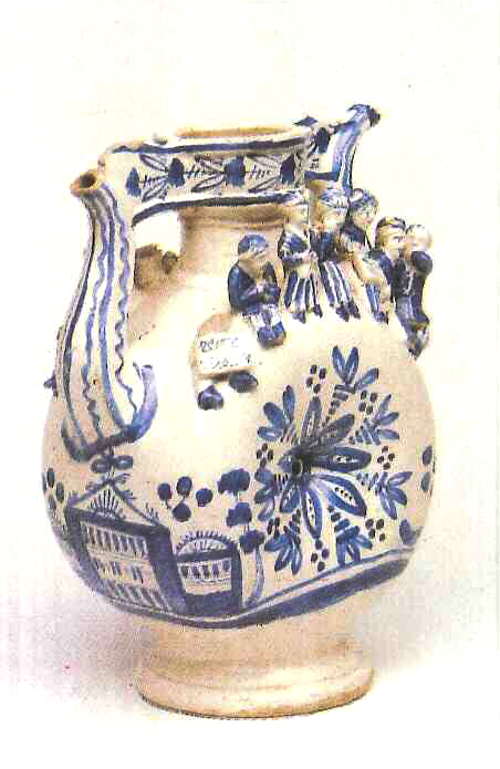 Kumgan (high pitcher with a spout). Late 18th mid 19th centuries