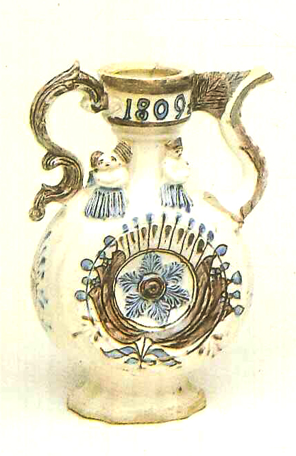Kumgan (high pitcher with a spout). <br/>1809 year