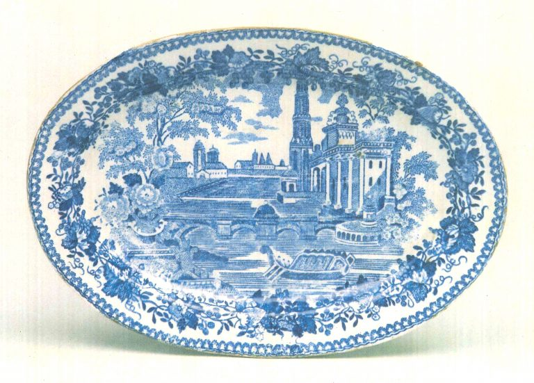 Plate. <br/>Late 18th mid 19th centuries