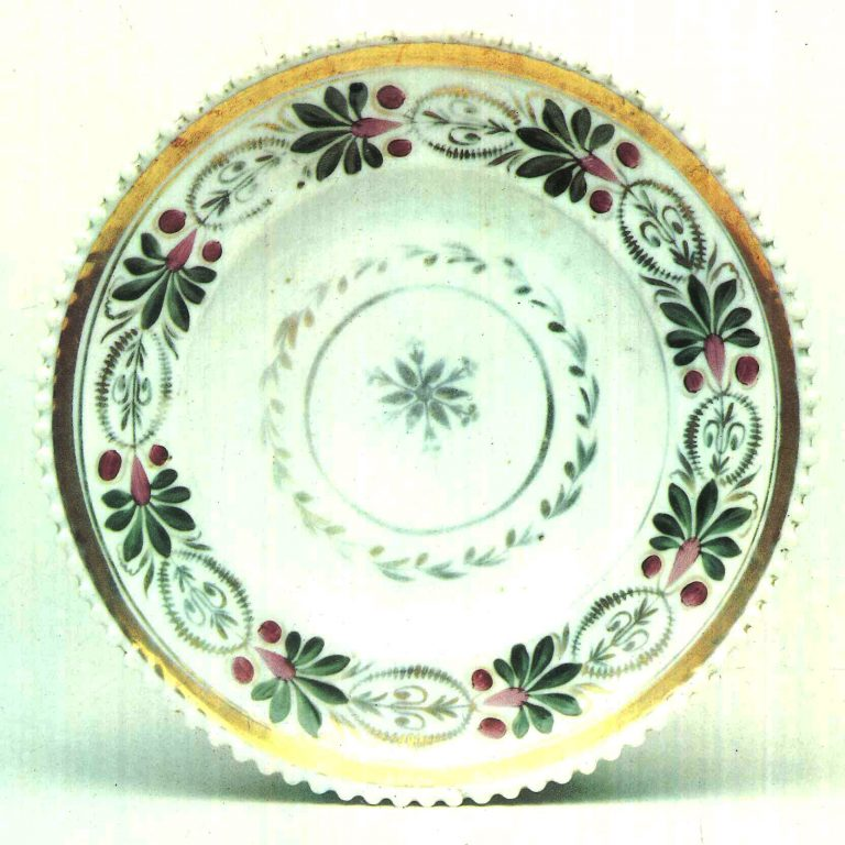 Plate. <br/>Second quarter of 19th century
