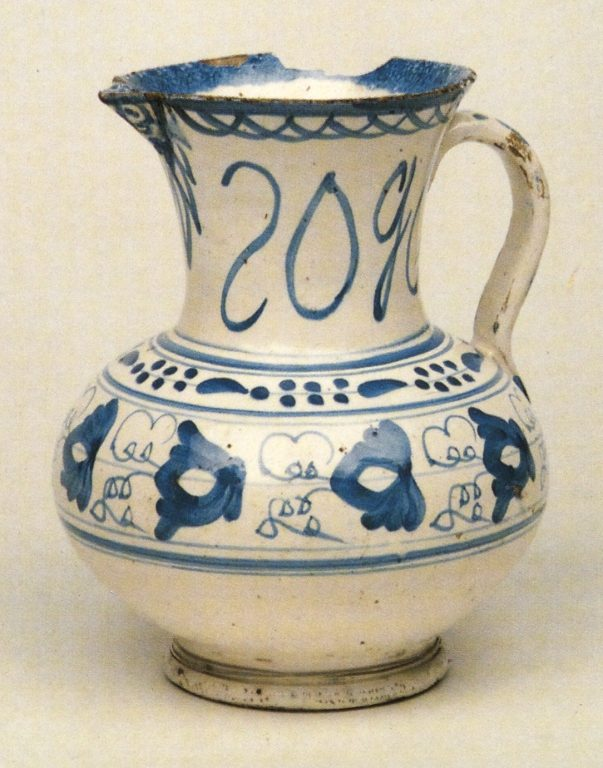 Pitcher. <br/>Late 18th mid 19th centuries