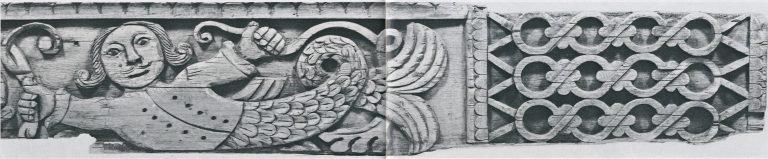Причелина. Фрагмент «Берегини». <br/>Вторая половина 19 века
