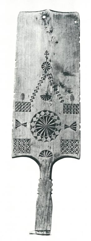 Distaff. <br/>Late 19th century