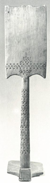 Distaff. Late 19th century