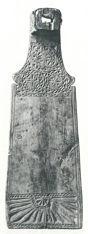 Донце для гребня. <br/>19 век