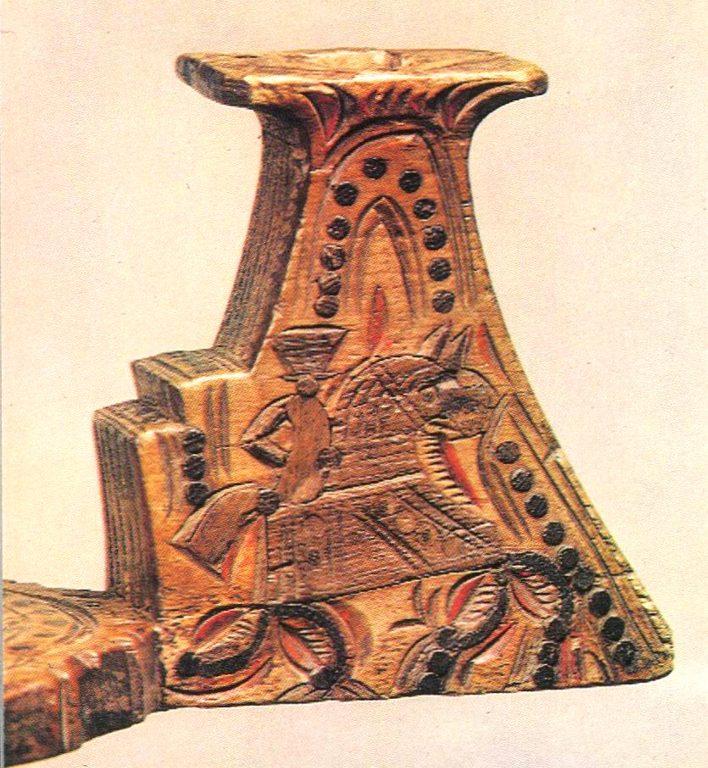 Головка для гребня. Начало 19 века