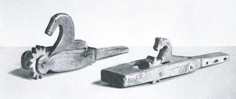 Притужальник ткацкого стана. <br/>Конец 19 века