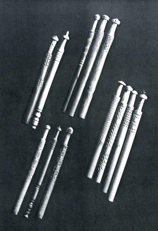 Коклюшки. <br/>19 век