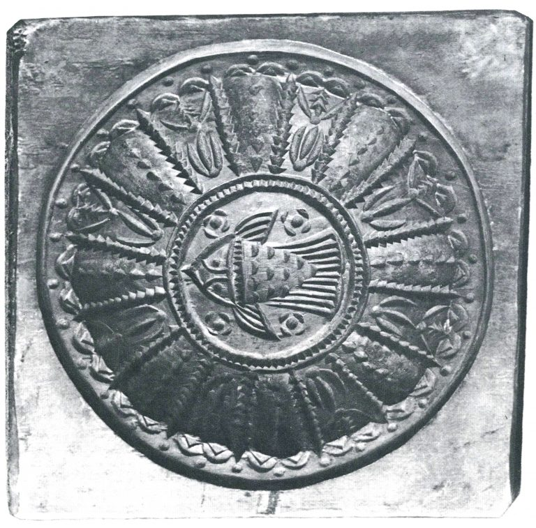 Форма для пряника. <br/>1792 год