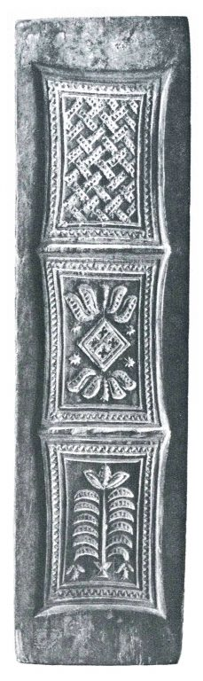 Pryanik (gingerbread) mold. <br/>19th century