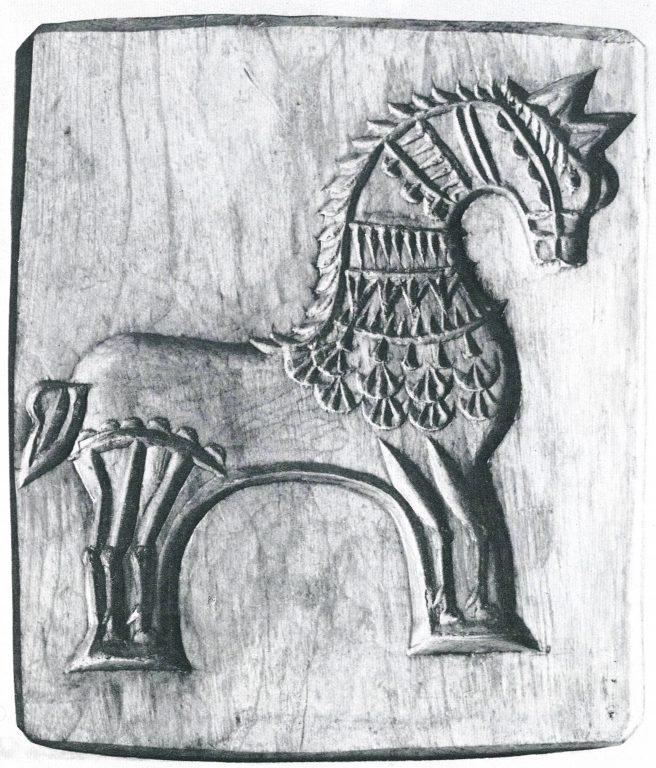 Форма для пряников. <br/>1870 год
