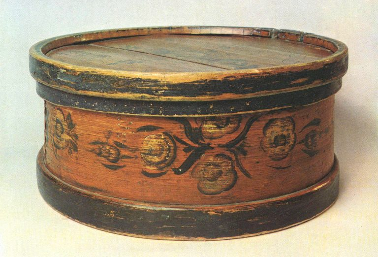 Bread box. <br/>Late 19th century
