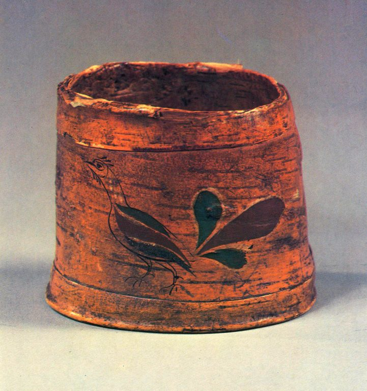 Burak (birch bark basket). <br/>19th century