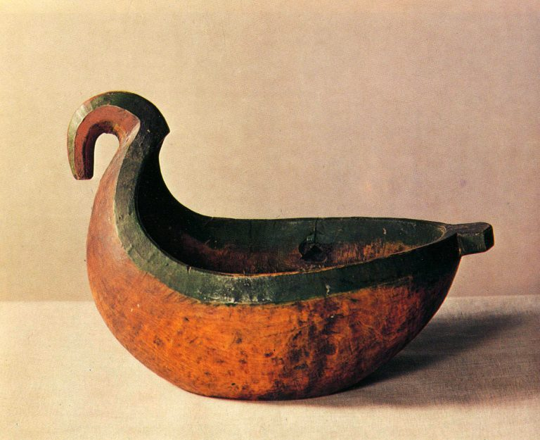 Vynosnoy kovsh (drinking vessel). <br/>Late 19th century
