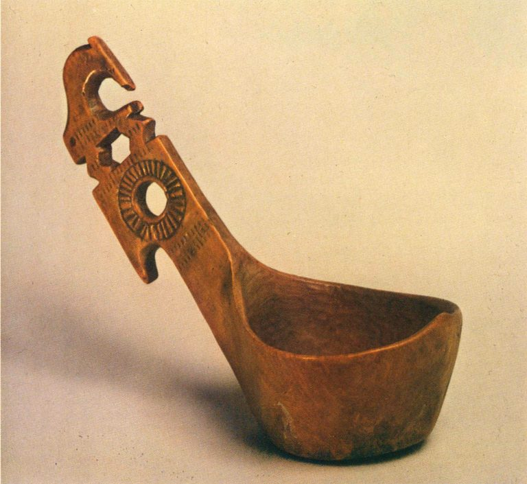 Kovsh-cherpak (ladle). <br/>First half of 19th century
