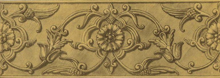 Silver basma of an icon. 16th century