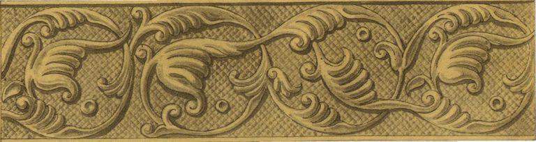 Silver basma of an icon. <br/>16th century