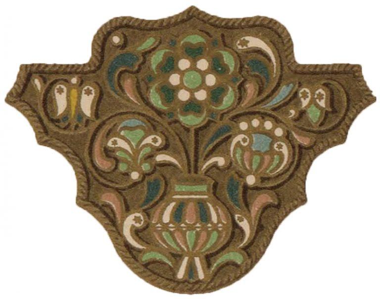 Эмалевое украшение . <br/>17 век