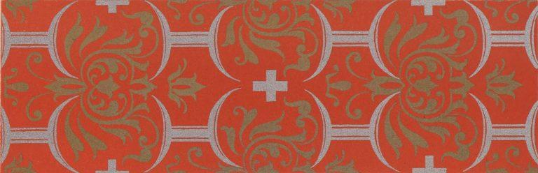 Орнамент доличного иконы кисти Симона Ушакова. 1683 год