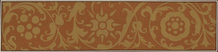 Орнамент доличного иконы конца 16 века. <br/>Конец 16 века