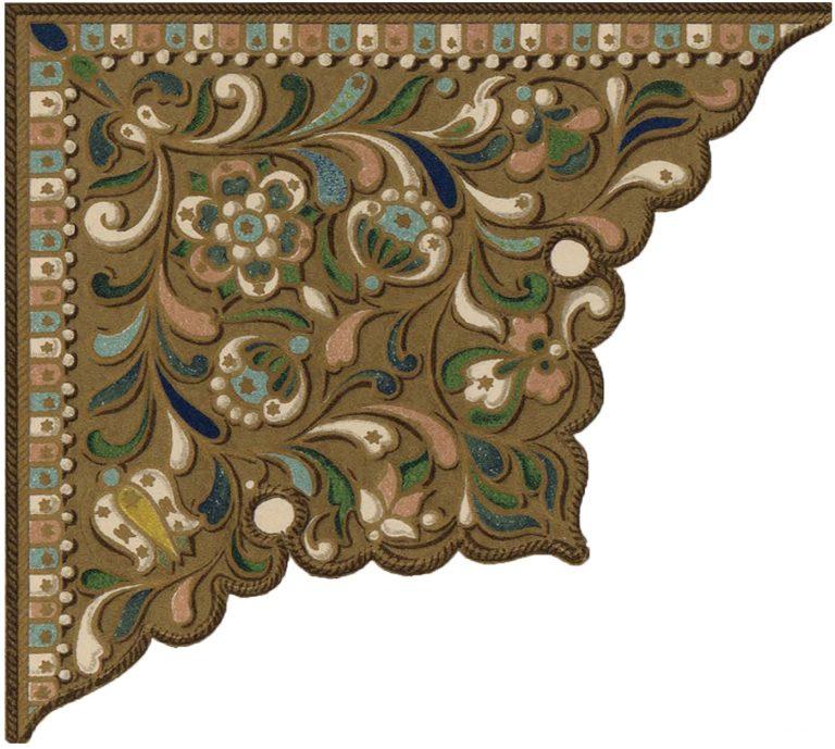 Эмалевое украшение. <br/>17 век