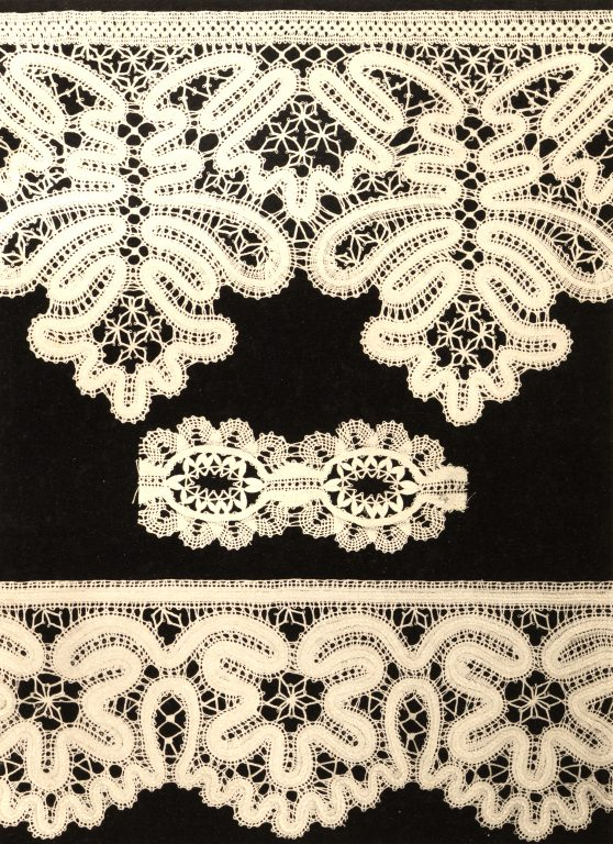 Thread lace. <br/>18th century - 19th century