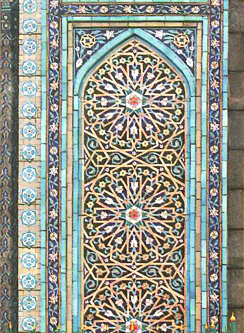 The Girih ornament. Mosque. 1904 year